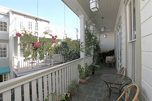 Gables Inn Balcony